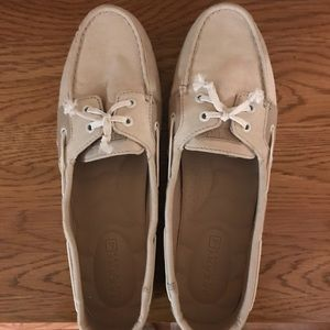 Sperry canvas shoes woman's 9.5